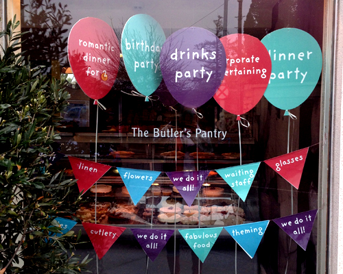The Butler's Pantry Party Window