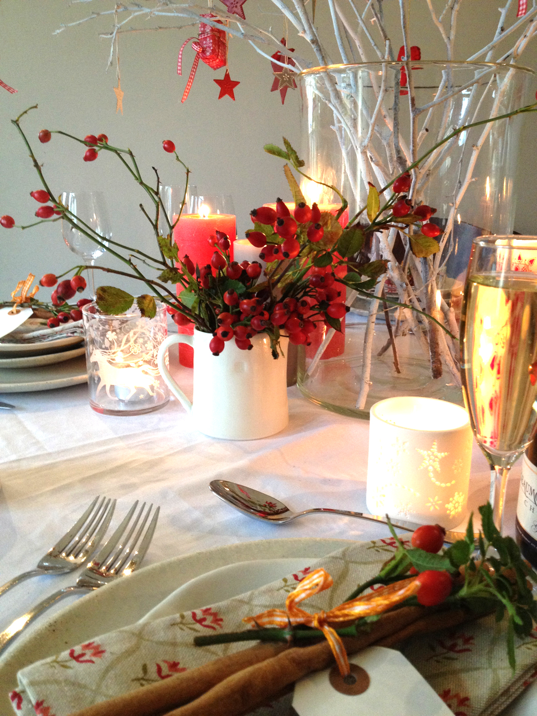 The Butler's Pantry Christmas Table Styling