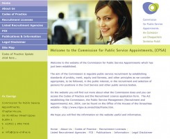 CPSA Website