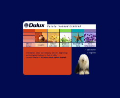 Dulux website