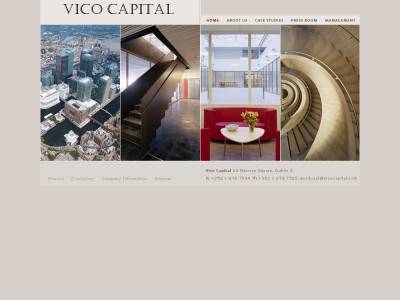 Vico Capital Website