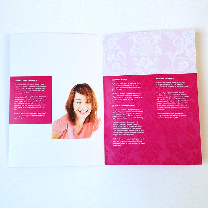 Top People Brochure