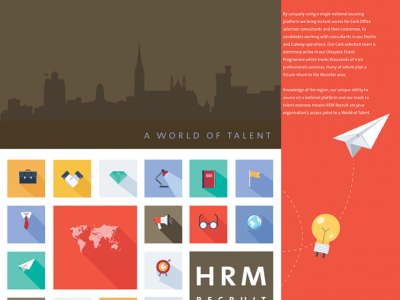 HRM Recruit World of Talent Brochure 2014