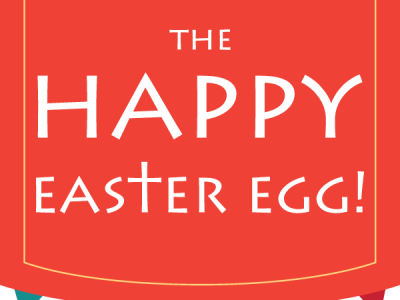 The Happy Easter Egg Logo